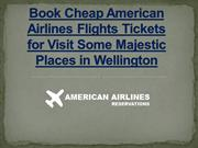 American Airlines Reservations - American Airlines Official Site