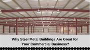 Prefabricated Commercial Steel Structure Metal Building