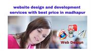 website design and development services with best price in madhapur