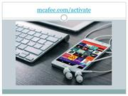 mcafee.com/activate - complete security for PC/MAC