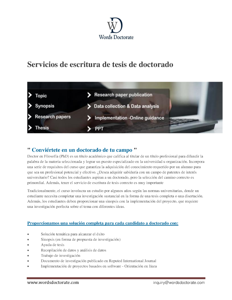 Spanish writing services