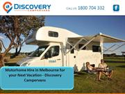 Motorhome Hire in Melbourne for your Next Vacation - Discovery Camperv