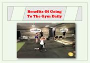 Few Important Benefits Of Going To The Gym Everyday