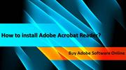 How to install Adobe Acrobat Reader