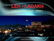 LEH-LADAKH (Jammu and Kashmir -INDIA)