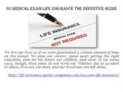 No Medical Exam Life Insurance The Definitive Guide