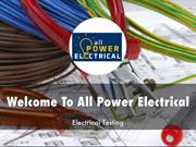 Detail Presentation About All Power Electrical