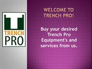 Trench Safety Equipments to Rent  Trenching and Excavation Safety Equi