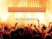 Events with Favorite Layaway Tickets