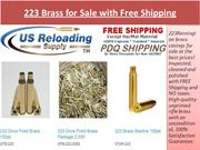 223 Brass for Sale with Free Shipping