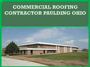 COMMERCIAL ROOFING CONTRACTOR  OHIO