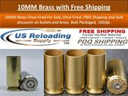 10MM Brass with Free Shipping