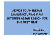 entry strategy into asean region
