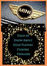 Gold Plating Chrome Emblems - Premium Emblem