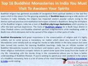 Top 16 Buddhist Monasteries in India