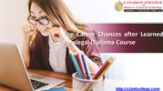 Top Career Chances after Learned Paralegal Diploma Course