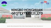 Buy High Strength Woven Geotextile