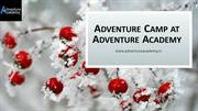 Adventure Camp at Adventure Academy
