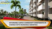 AFFORDABLE GATED COMMUNITY APARTMENTS IN CHENNAI WITH INCREDIBLE AMENI