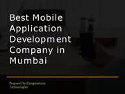 How to choose best mobile application development company in Mumbai