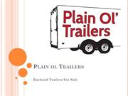 tandem axle trailers for sale