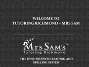 Calculus Tutors in Richmond – Tutoring Richmond Mrs. Sam