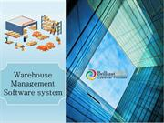 Advance warehouse management system, WMS software for your warehouse