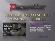 Employment with Pacesetter at pps