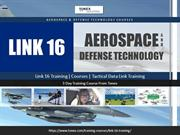Link 16 Training ,Courses ,Tactical Data Link Training