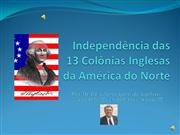Independ�ncia das 13 col�nias da Am�rica