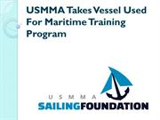 USMMA - Vessel Used For Training