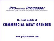 Commercial meat grinder – Texas, USA