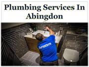Plumbing Services In Abingdon