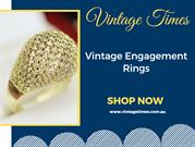 Vintage engagement rings and wedding bands online