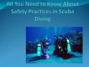 All You Need to Know About Safety Practices in Scuba Diving