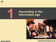 Accounting in the Information Age