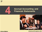 Accrual Accounting And Financial Statements