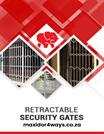 Installing Retractable Security Gates for Protection against Intruders