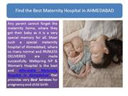 Find the Best Maternity Hospital in AHMEDABAD