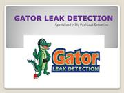 Gator Leak Detection-Specialized in Diy Pool Leak Detection1