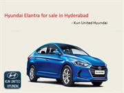 Hyundai Elantra for Sale in Hyderabad | Kun United Hyundai