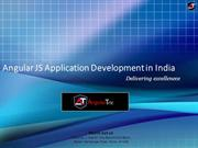 Angular JS Application Development in India - Angulartric