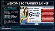 Best Summer Training in Noida - Best Summer Training Center in Noida