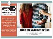 Vacation Property Management in Colorado | High Mountain Hosting