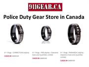 Police Duty Gear Store in Canada