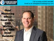 Chief Marketing Officer Email Lists _ CMO Mailing Lists _ CMO Email Da
