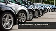 The benefit of PCO Car Hire In London