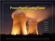 Power Plant Cooling Tower