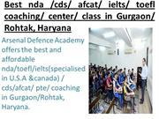 Achievers of NDA/ CDS/ AFCAT/ SSB in Arsenal Defence Academy