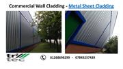 Commercial Wall Cladding  Metal Sheet Cladding